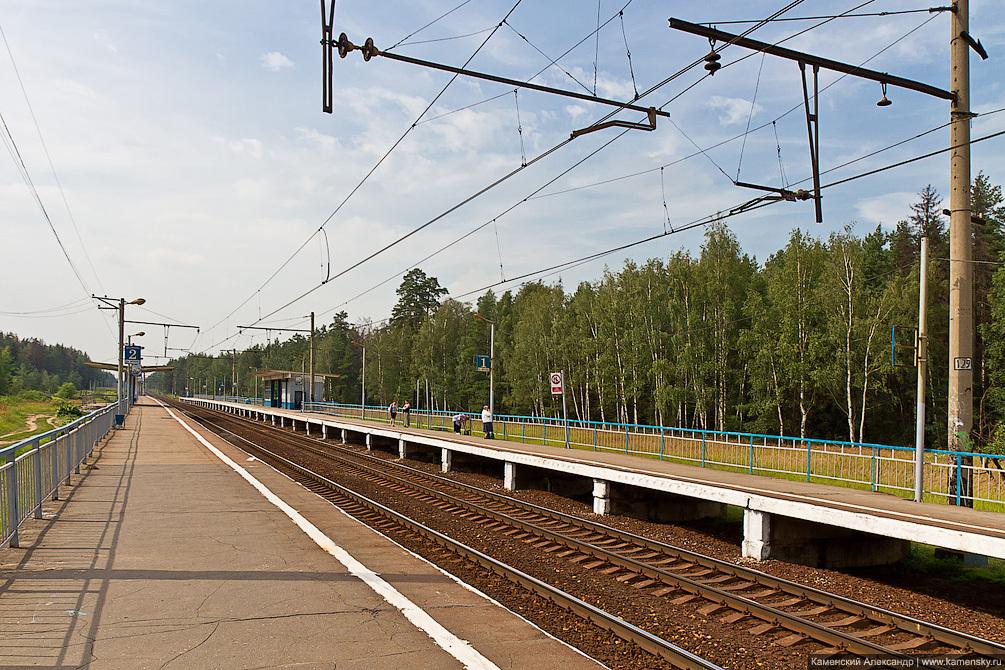 Подмосковье, железная дорога, Ярославское направление, МЖД, Фрязевская линия