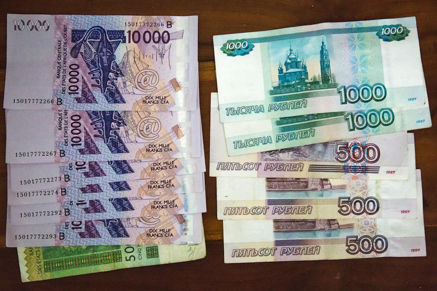 Африканская пенсия выше российской.