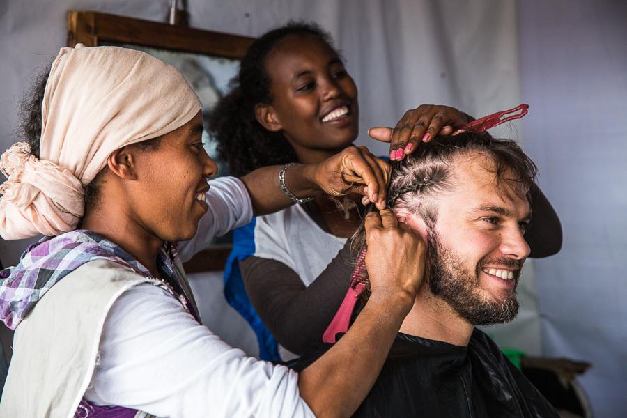 Анашкевич в Эфиопии.
