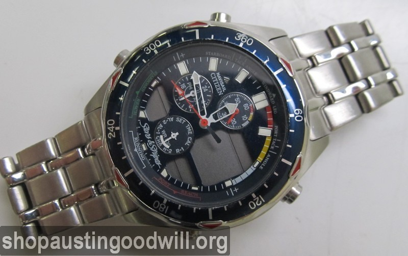 Citizen Navisail ProMaster Stars and Stripes Mens Watch