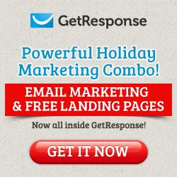 GetResponse Promo Code Free Landing Page Creator