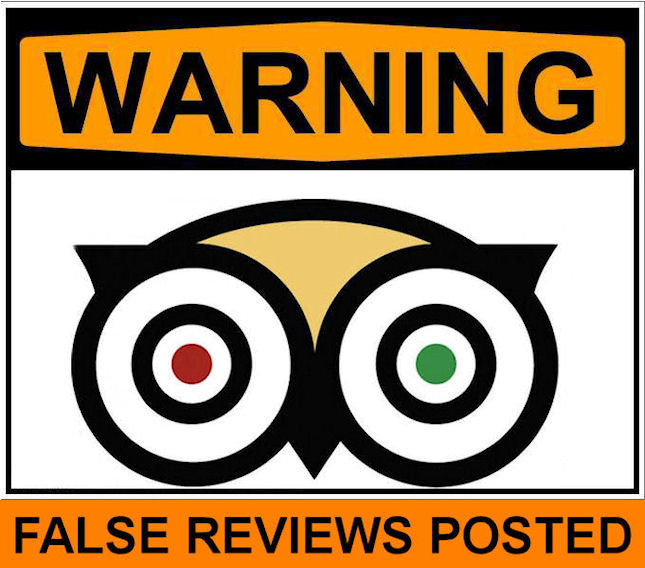 Fake and Paid Product Reviews - TripAdvisor Example