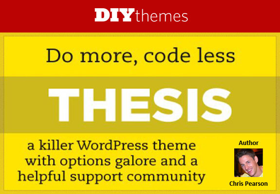 Thesis Theme Framework Promo Code Discount Coupon