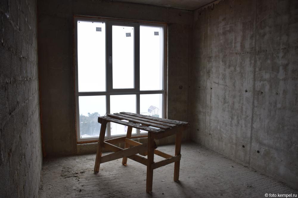 Сочи. Новостройка на Бытхе. 2 комнатная квартира на Бытхе. 52 квадратных метра. 4 800 000 рублей. Вид на море панорамный. Стены монолитные