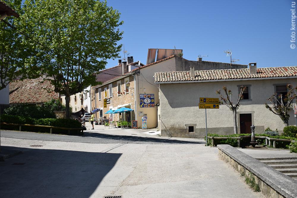 Camino de Santiago 2015. 3 день. Larrasoana - Maneru = 43,6 км по Пути Святого Якова.