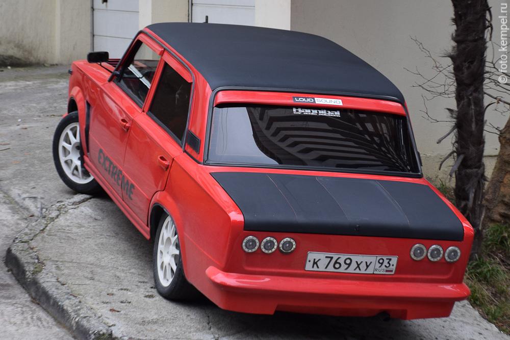 к769ху93 Лучшие автомобили Лада в Сочи. Самые красивые Жигули в городе Сочи