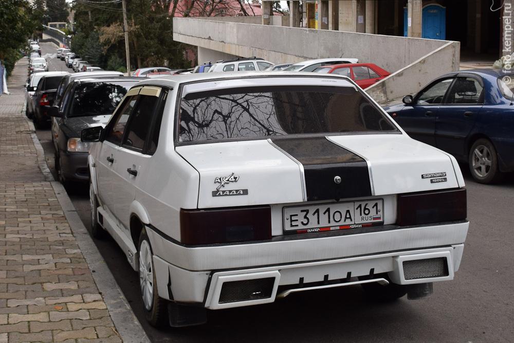 е311оа161 Лучшие автомобили Лада в Сочи. Самые красивые Жигули в городе Сочи