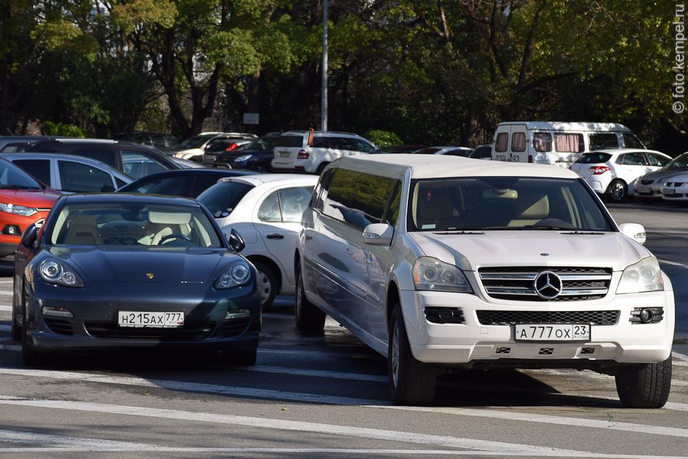 Главная проблема автомобилей с номерными знаками 777 в Сочи.