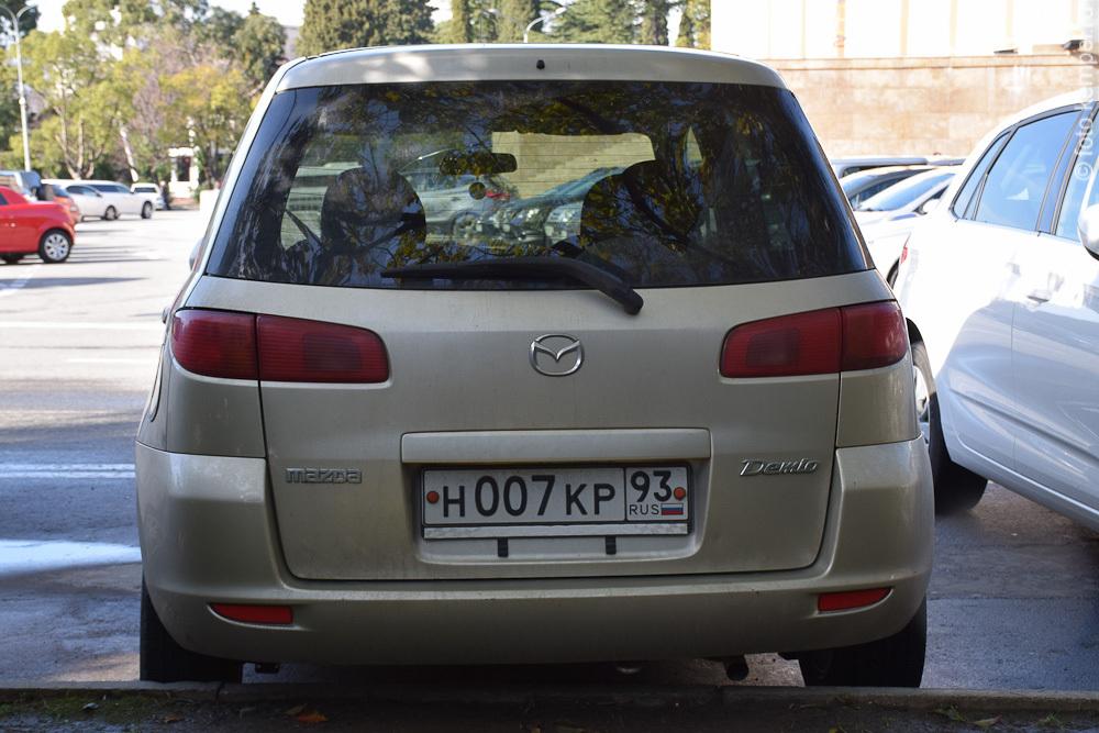 р007кр93 Автомобили Джеймса Бонда с номерными знаками 007 в Сочи