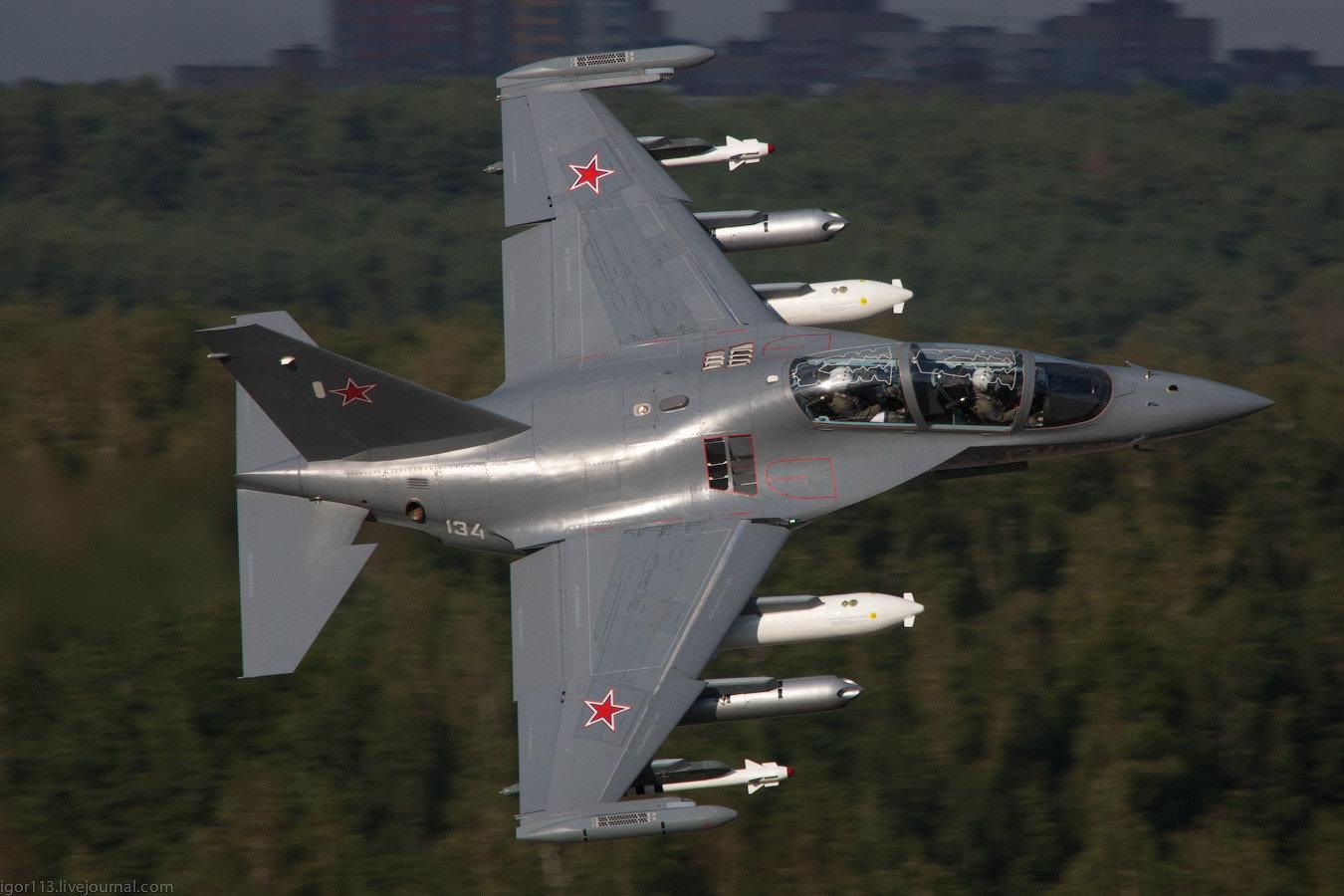 Yakovlev Yak-130 em demanda no mercado internacional