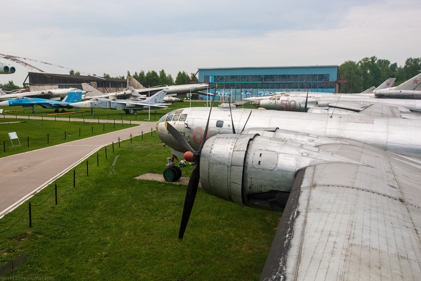 Музей ВВС Монино ч.24 : год 2013   Ту-4.