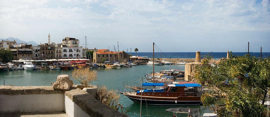 Северный Кипр, Киренийская гавань, вид со стен крепости