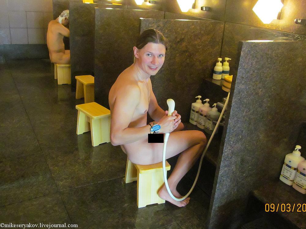 Голая моет мальчика бане фото 561-889