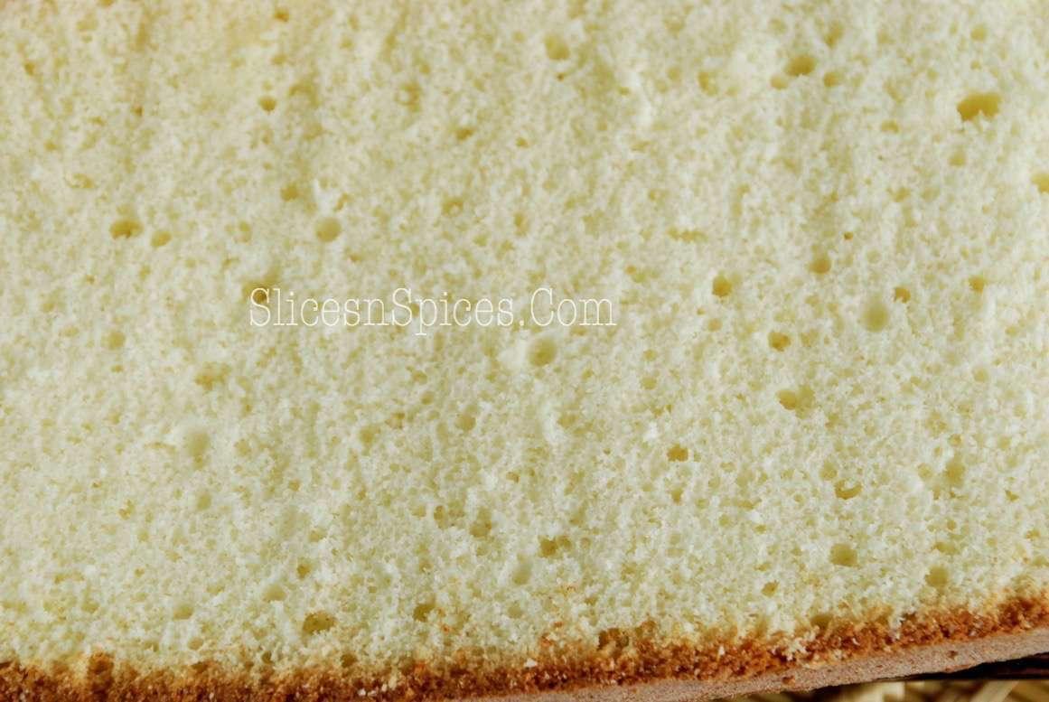 Recipe Fatless Sponge Cake