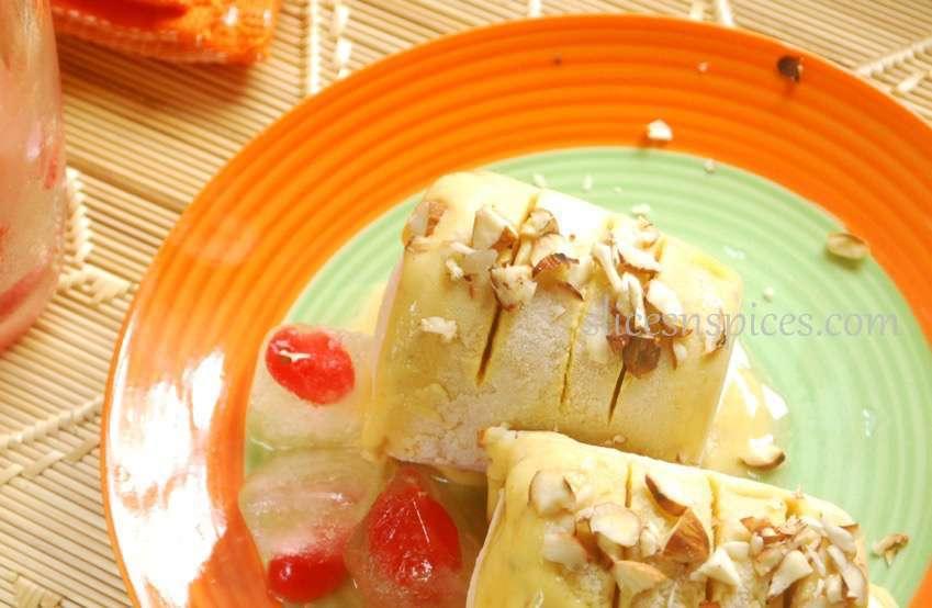 Mango Kulfi Recipe Slices N Spices