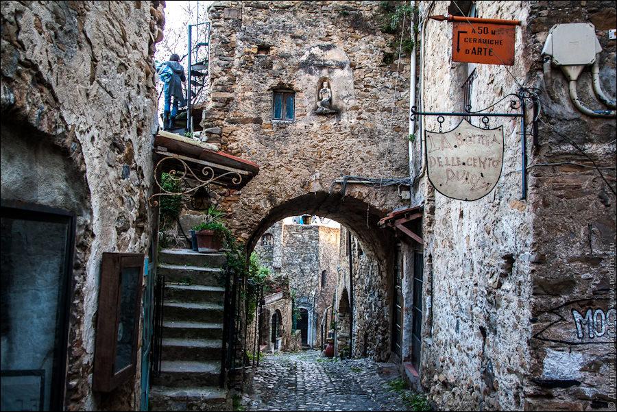 Средневековый город Буссана-Веккья