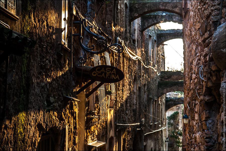 Заброшенный город Буссана-Веккья