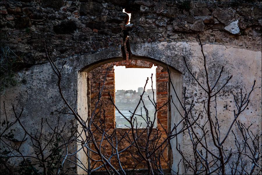 Город-призрак Буссана-Веккья