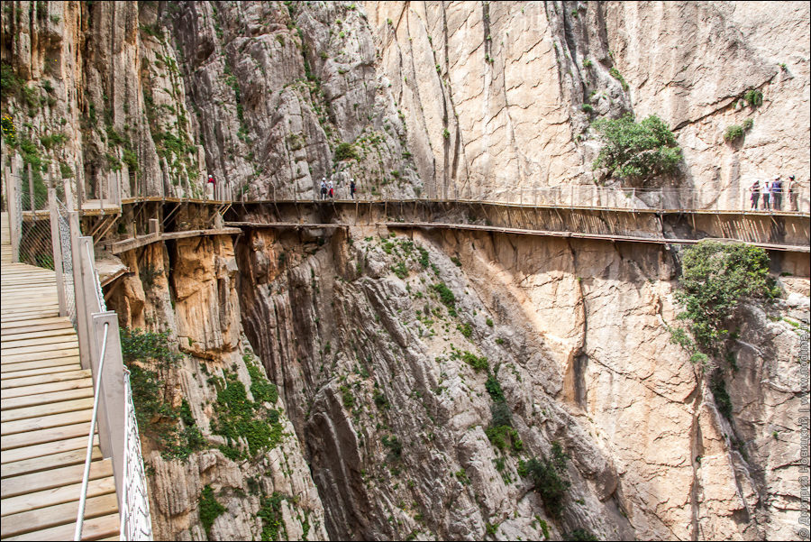 El Caminito del Rey - старая и новая тропы