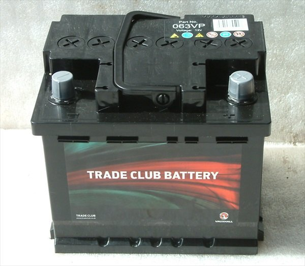 genuine quality gm vauxhall trade club 063 battery brand. Black Bedroom Furniture Sets. Home Design Ideas