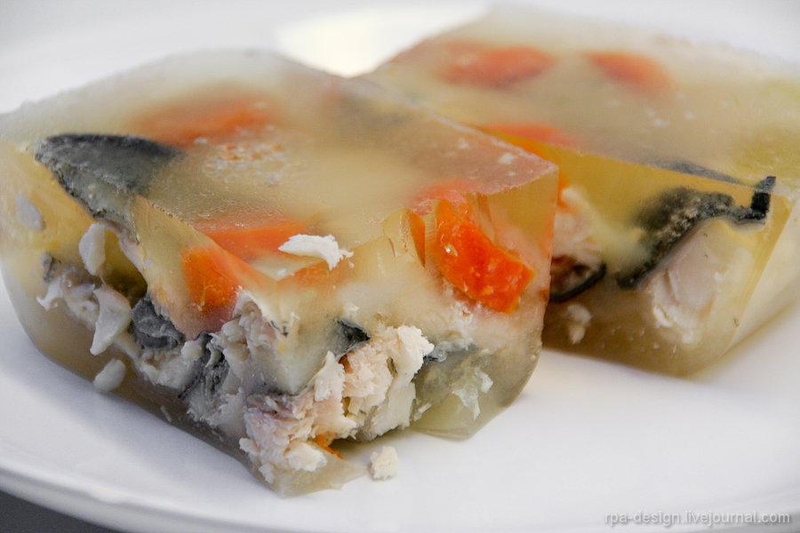 Студень из рыбы рецепт с фото
