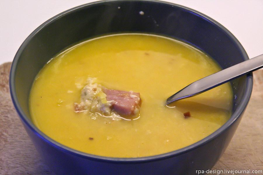 Как приготовить сырный суп видео