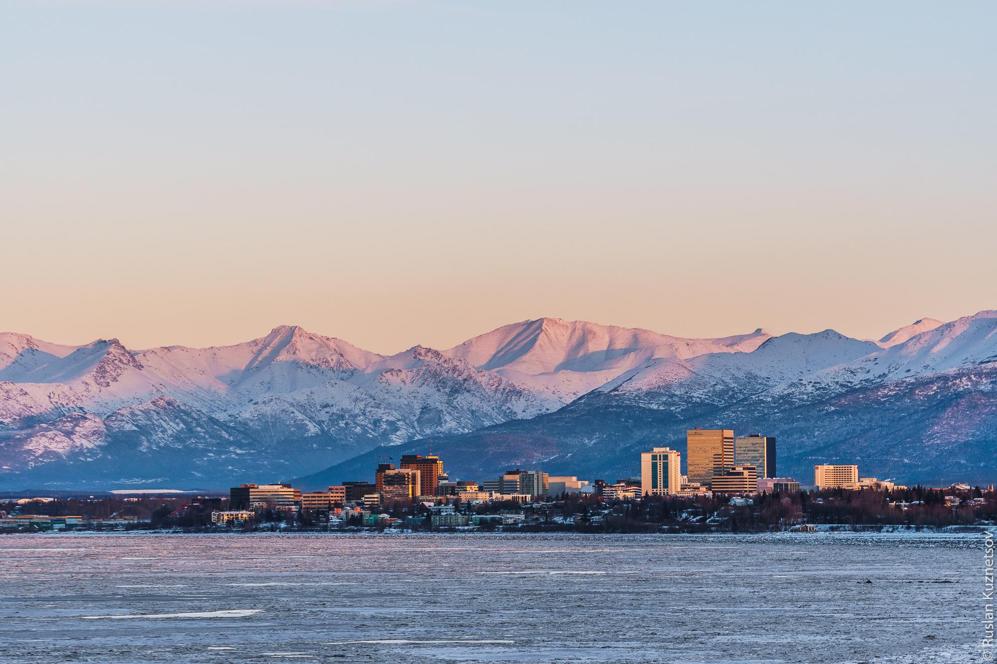 Зима на Аляске 1
