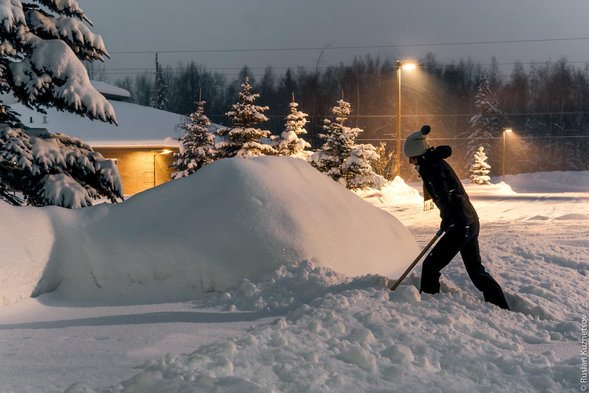 Зима на Аляске 7