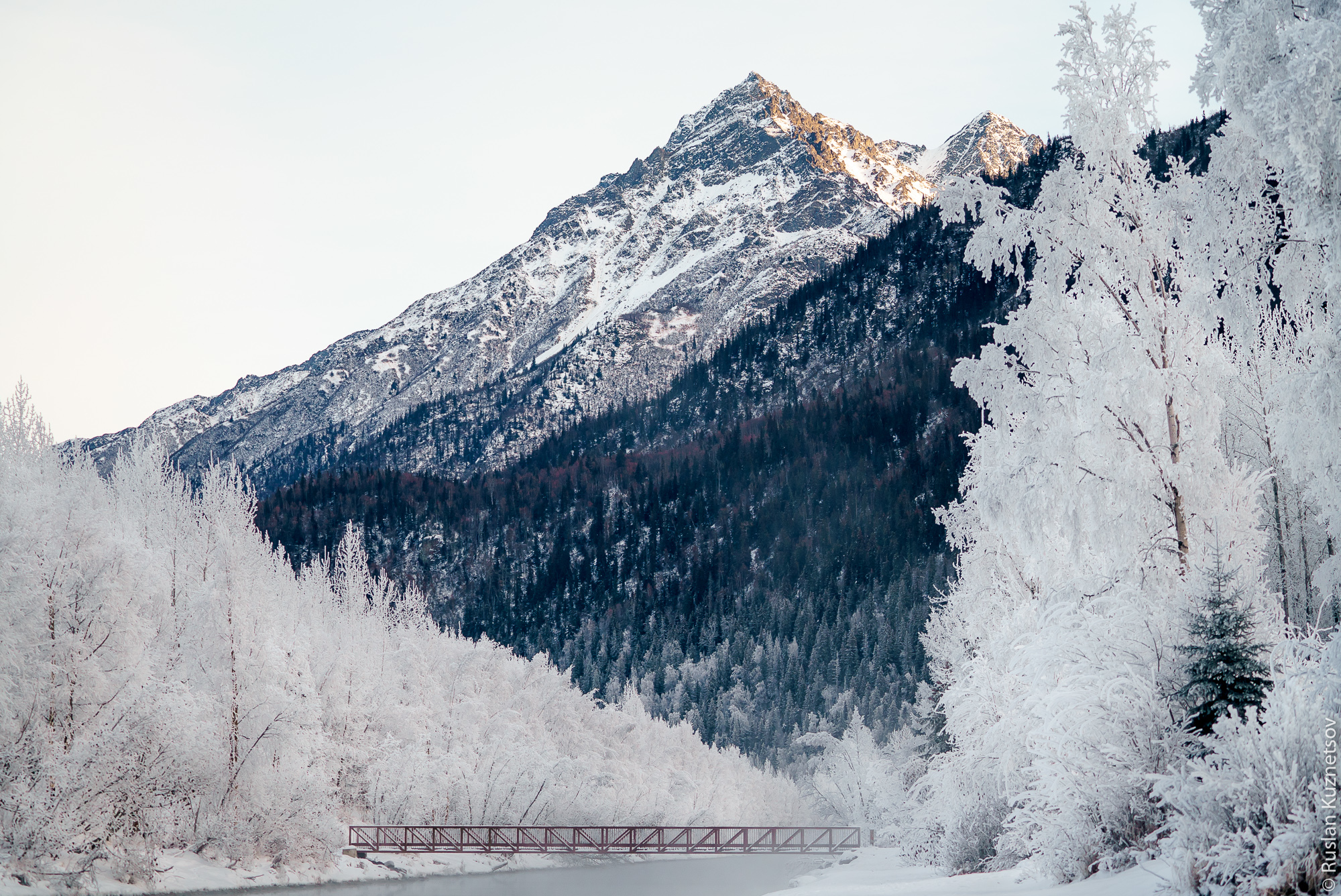 Зима на Аляске 4