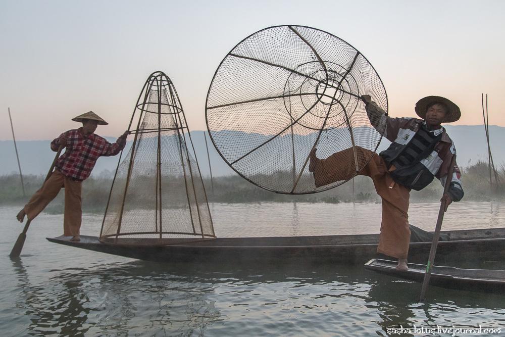 Особенности национальной рыбалки по-бирмански
