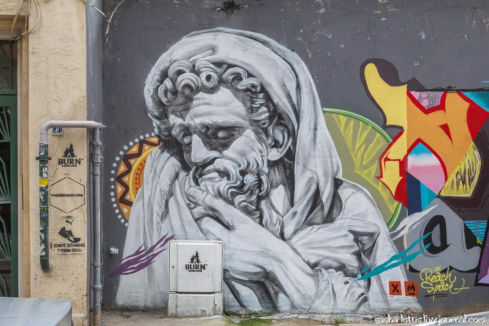 Стрит-арт Стамбула. Часть 2