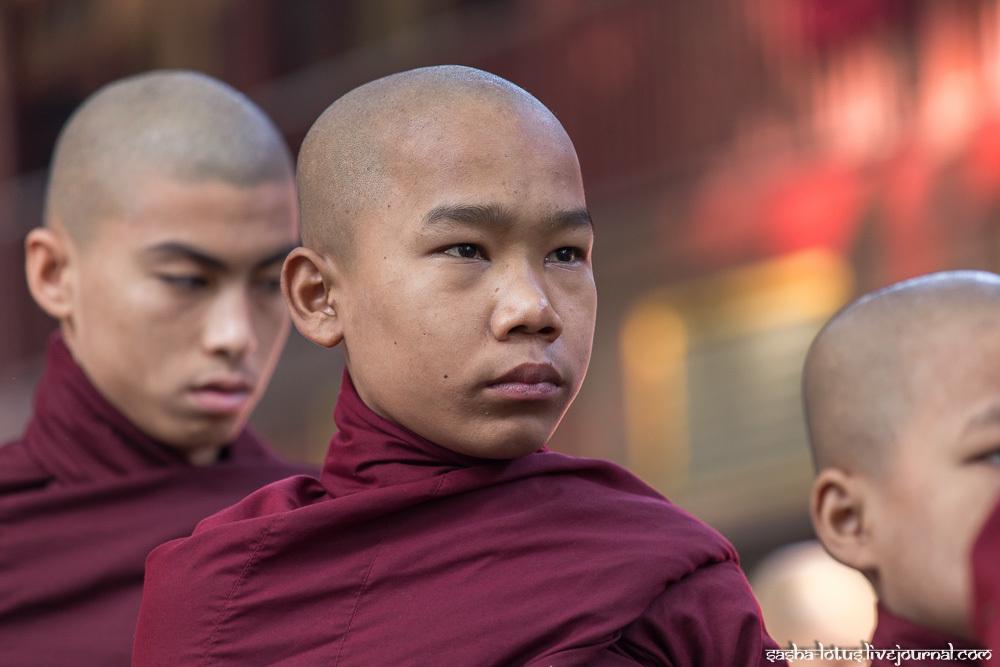 Какова жизнь монаха в Мьянме