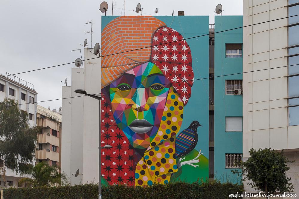 Стрит-арт Марокко
