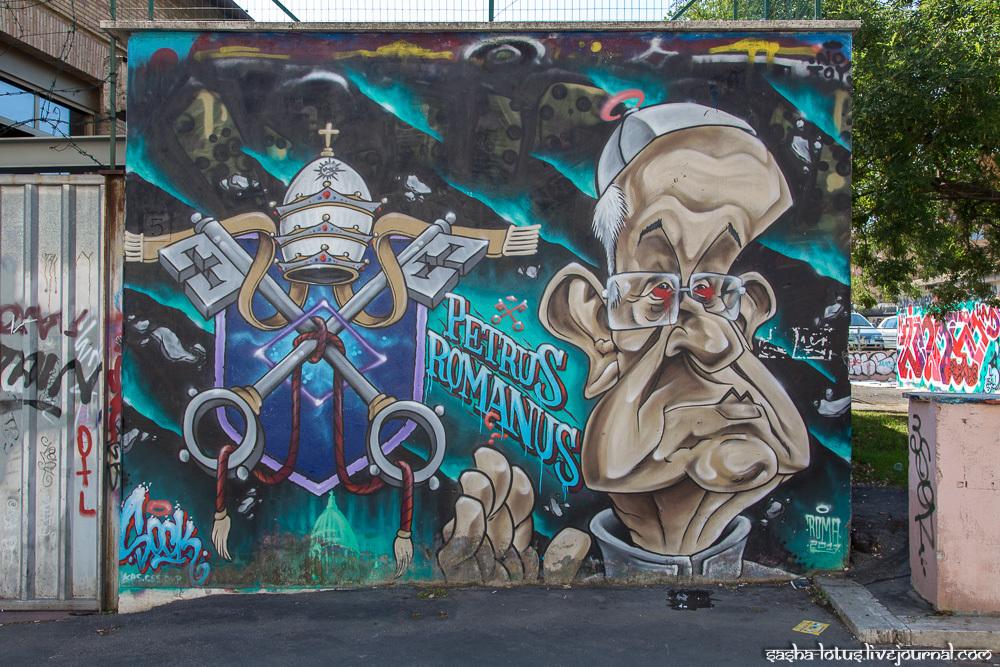 Стрит-арт Рима