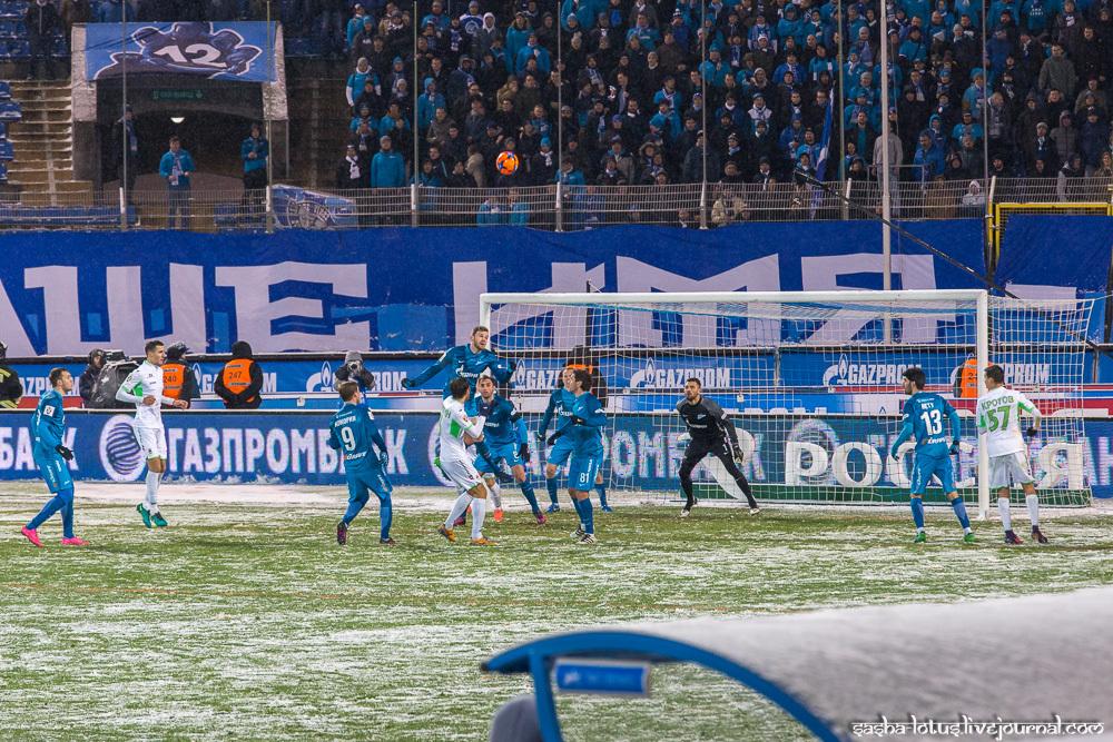 """""""Зенит"""" - """"Уфа"""", 16й тур РФПЛ 2016-2017"""