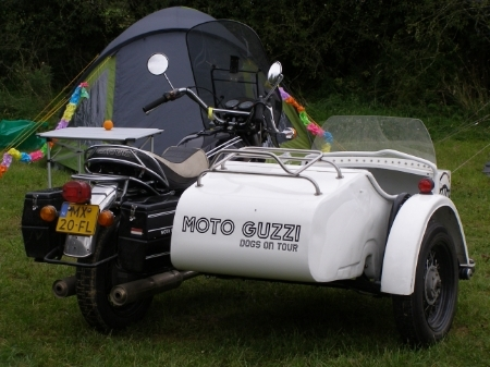 Moto Guzzi Dogs On Tour