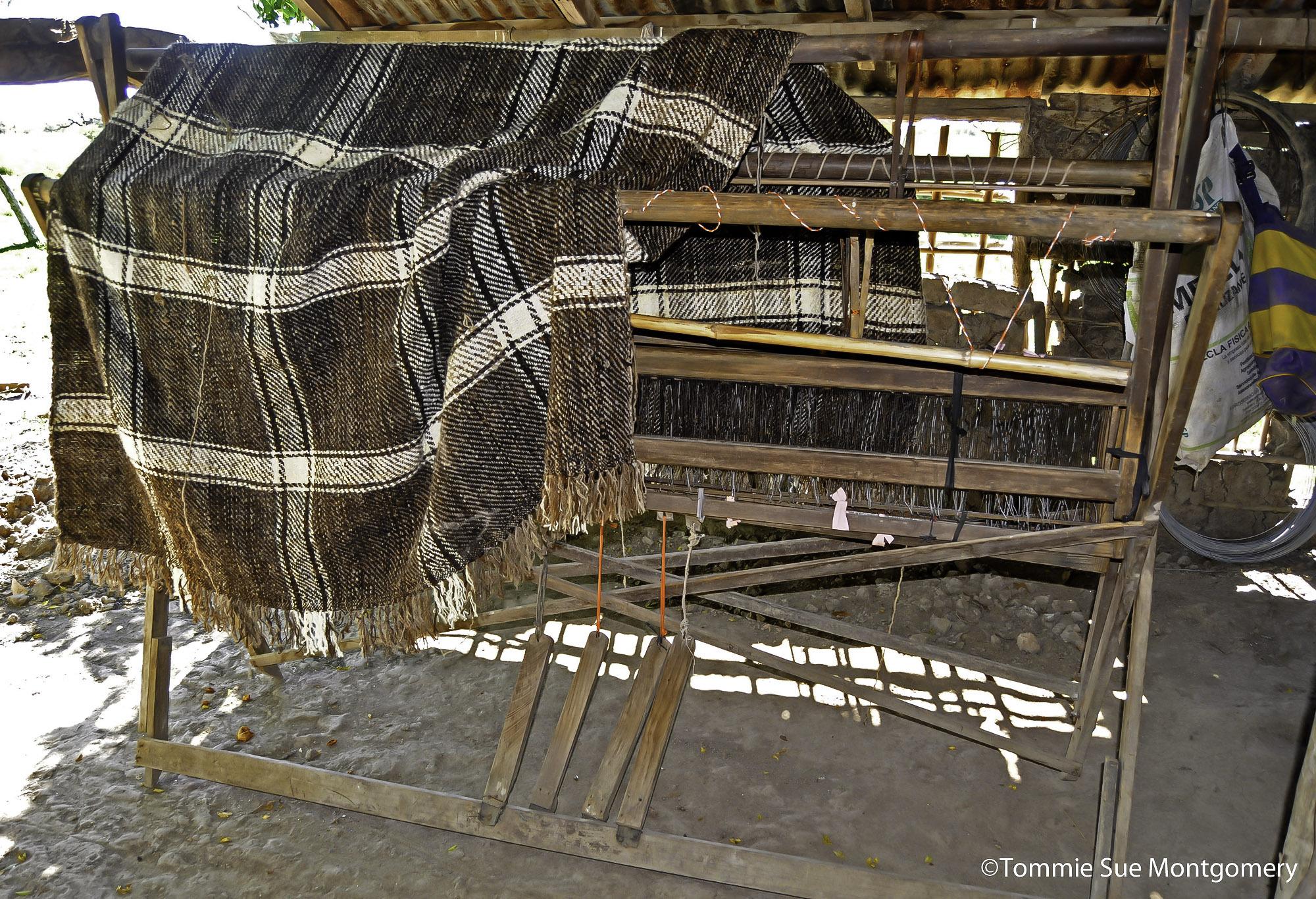 blanket on the loom