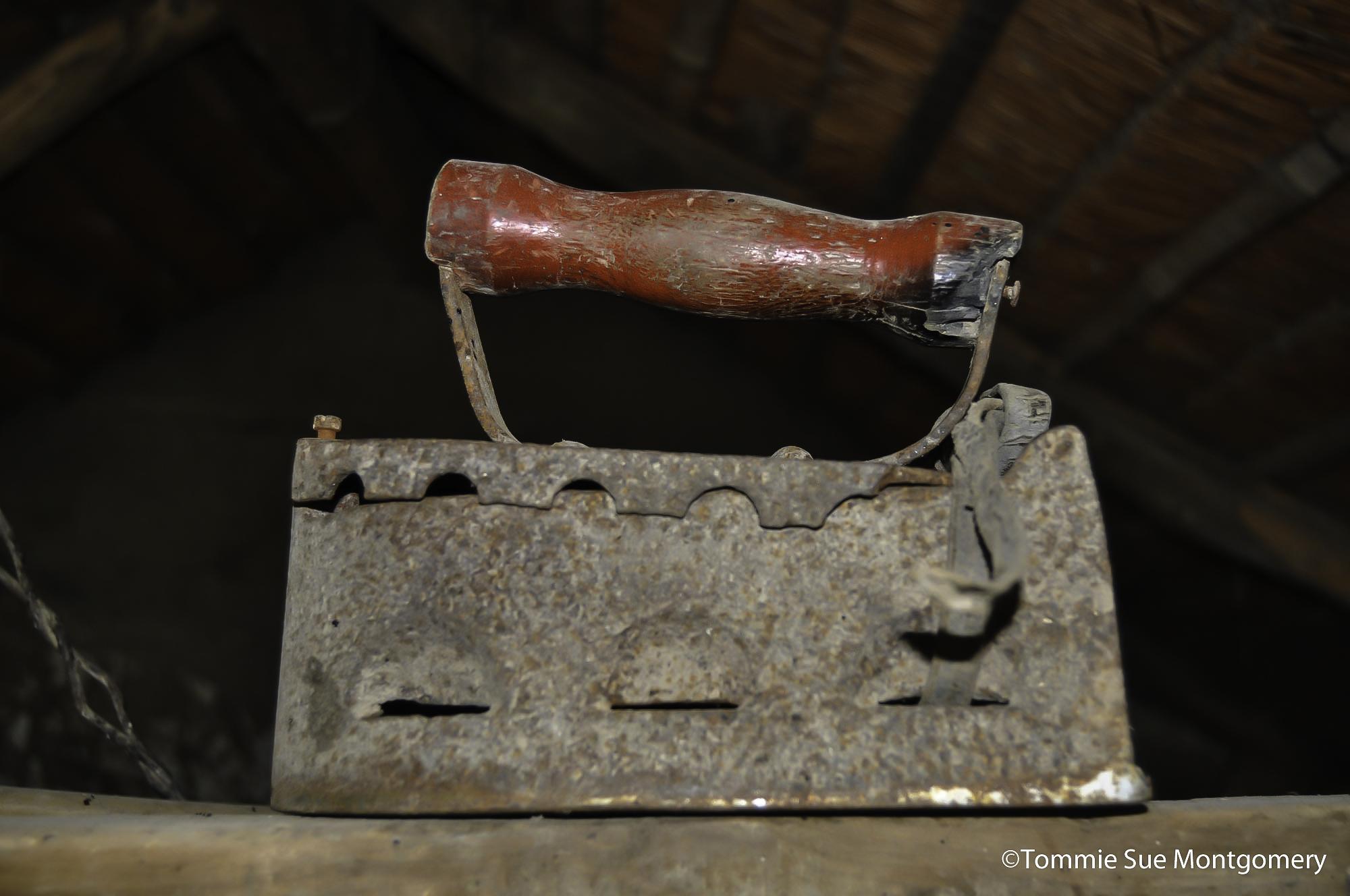 century old iron