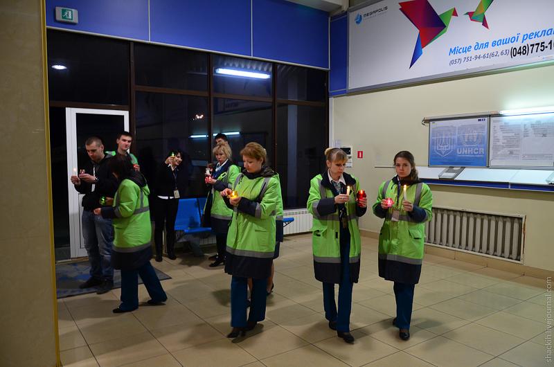 МГМ-2014. В Одессу привезли огонь, который называют благодатным