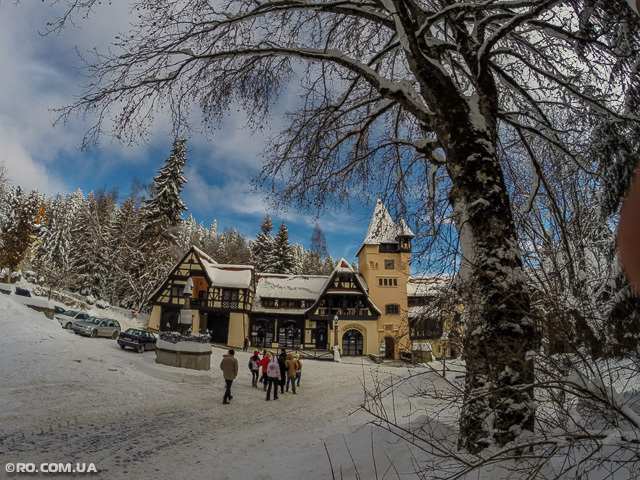 Очаровании Румынии, лыжный уикенд