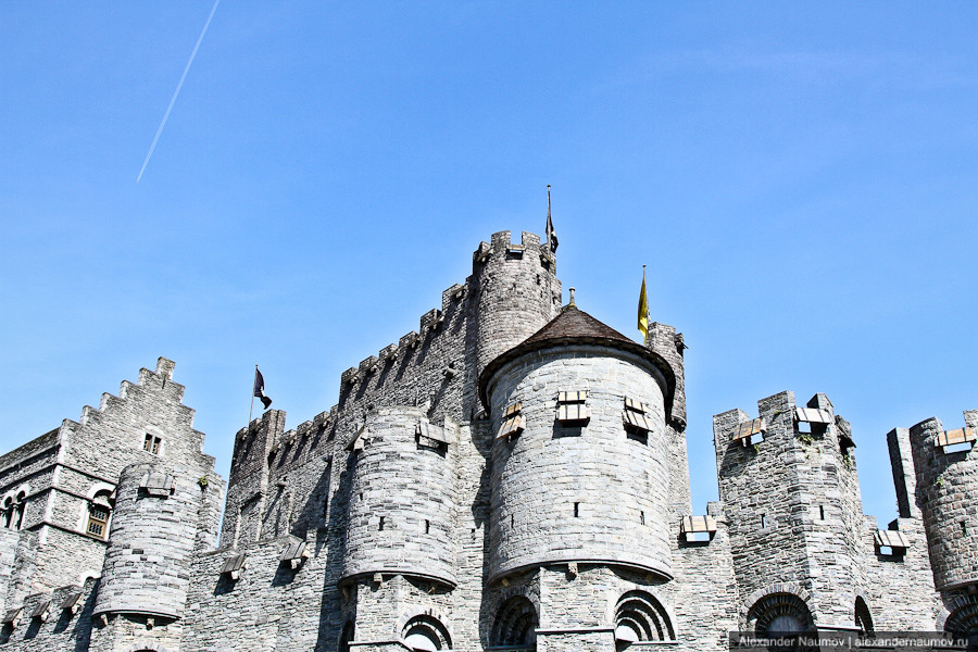 Замок Gravensteen