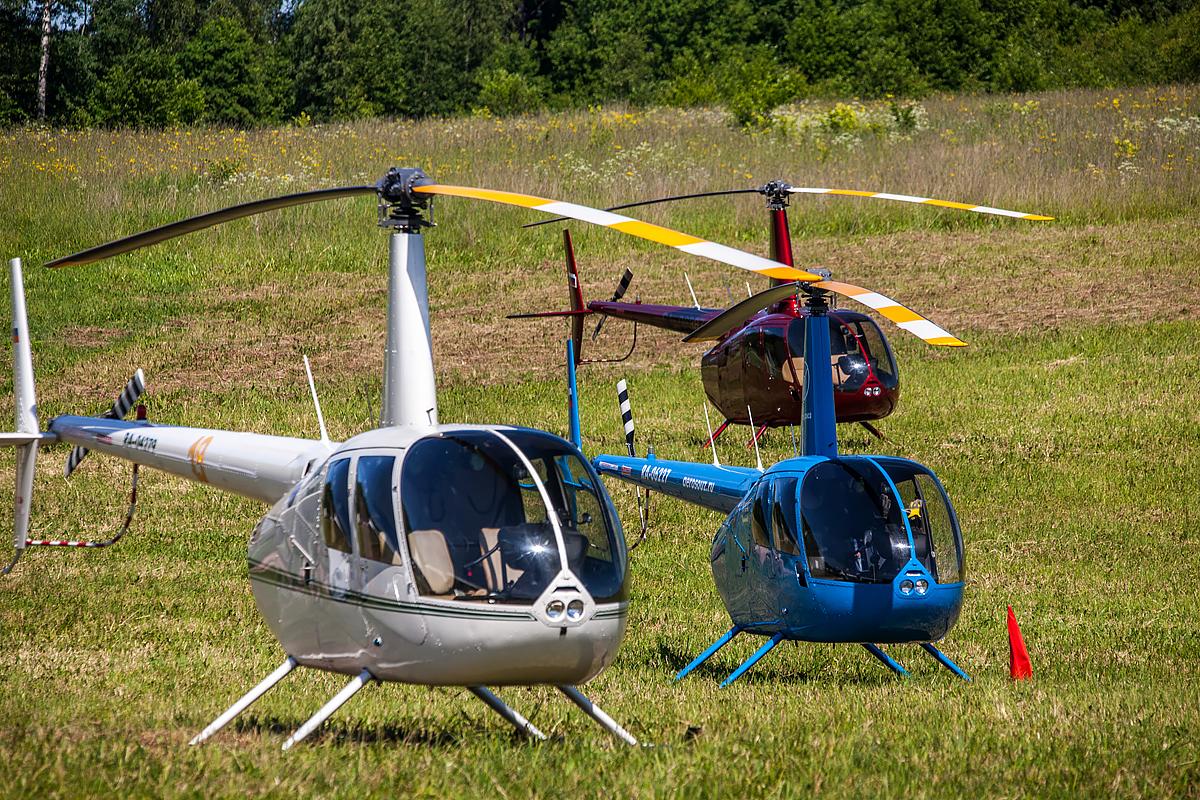 Вертослет 2015: вертолёты участников соревнований