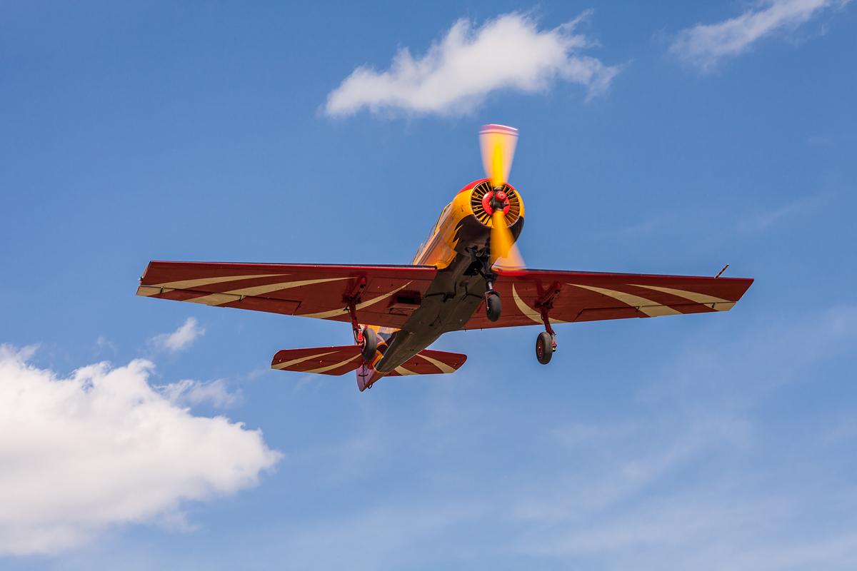 Первый полет, Як-52
