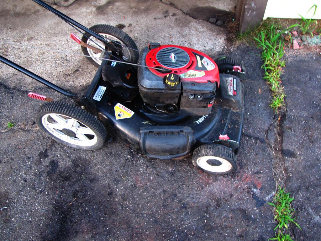 how to fix a broken lawn mower belt