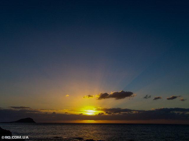 Рассвет на Канарах