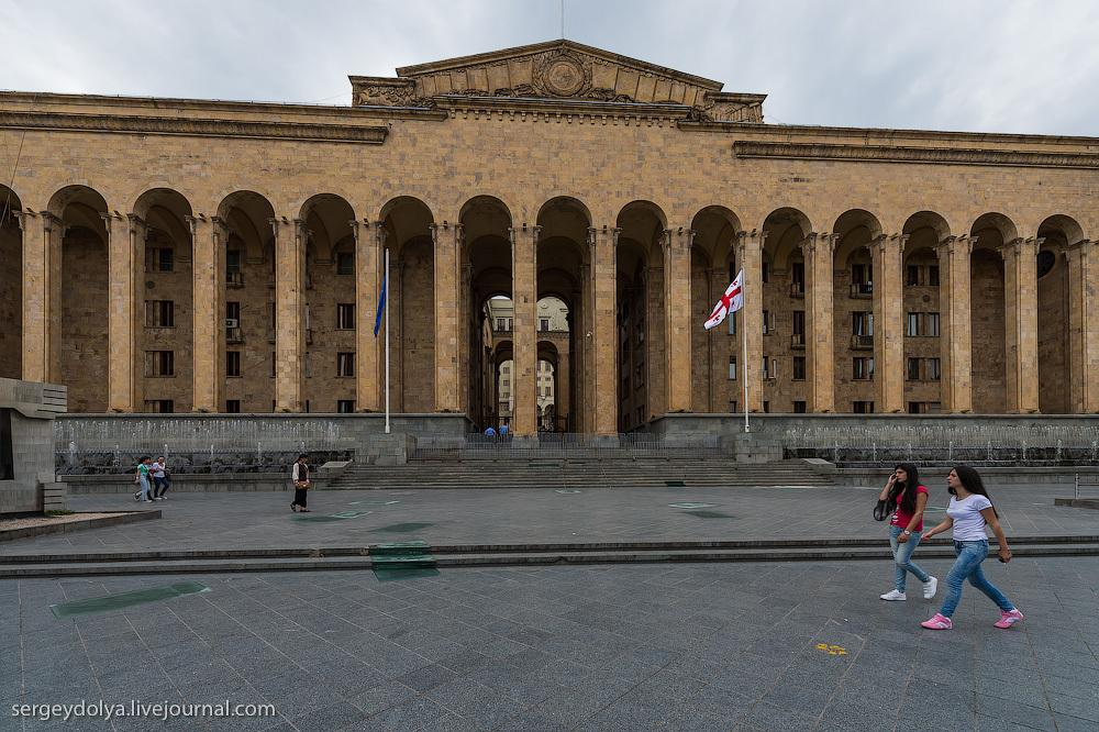 Грузия. Тбилиси. Часть 1