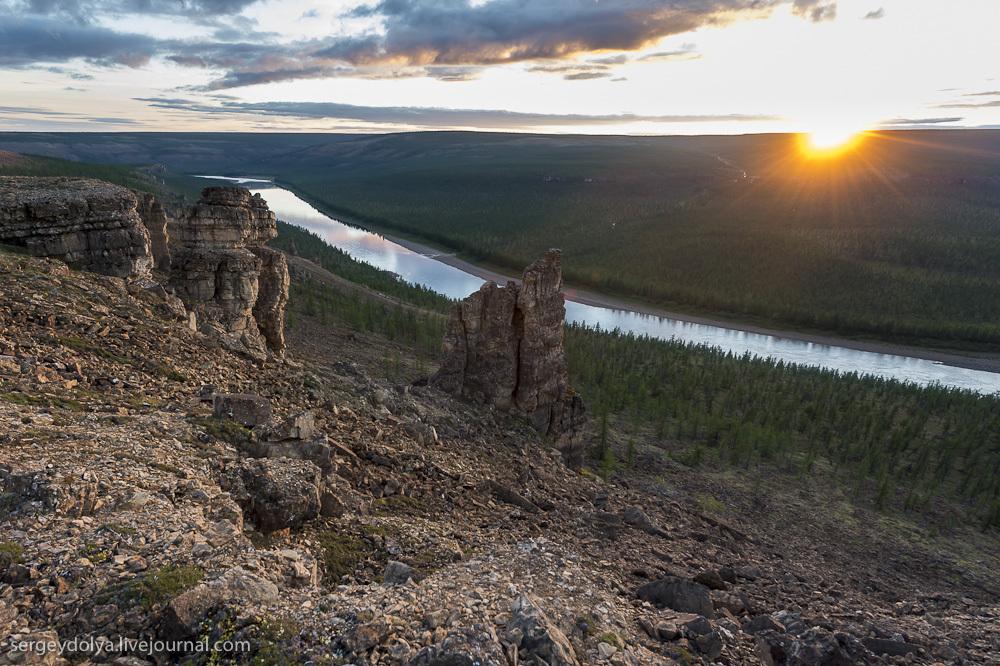 Сплав по реке Котуйкан. День 2 и 3