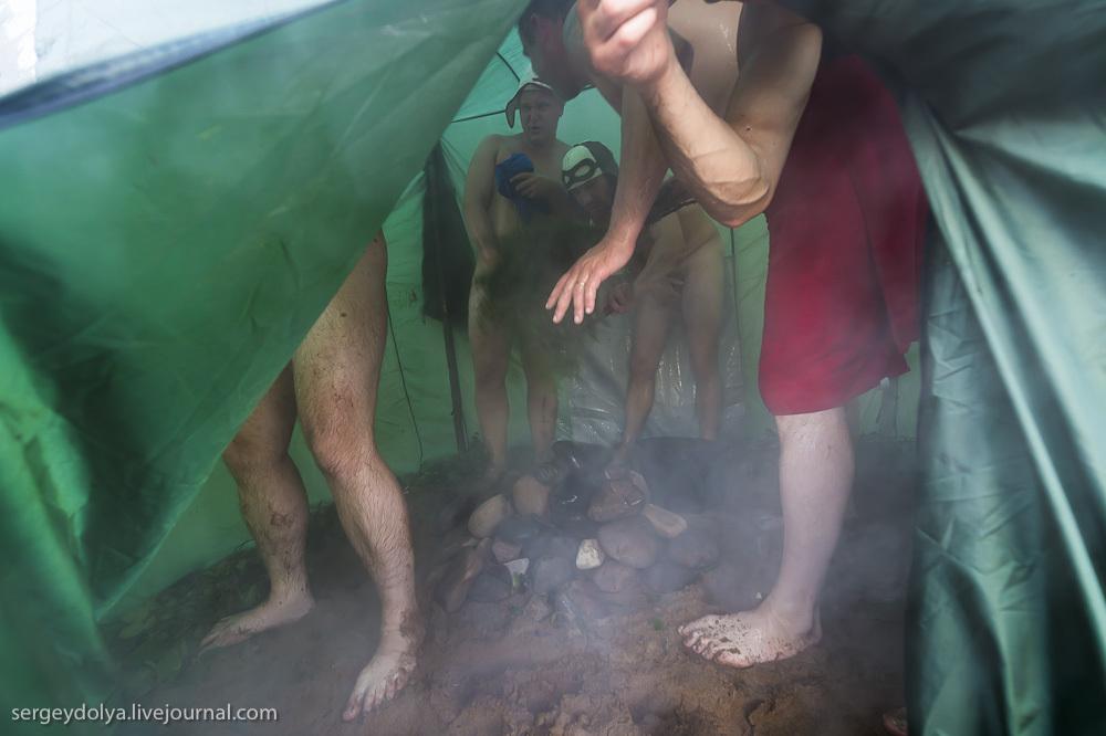 Сплав по реке Котуйкан. День 5. Баня и устройство лагеря