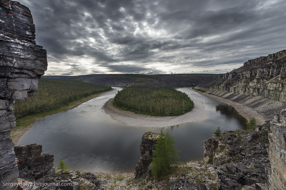 Сплав по реке Котуйкан. Последний день