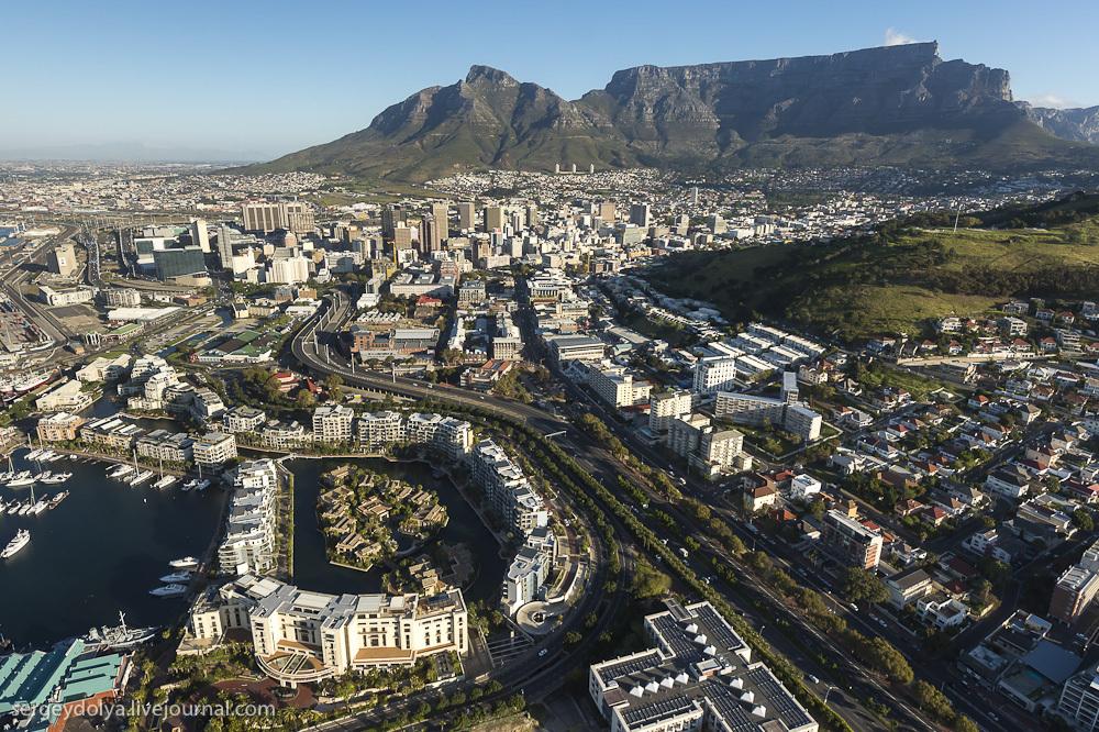 Кейптаун с вертолета и самый крутой отель в ЮАР